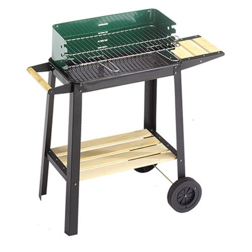 BARBECUE '50-25 GREEN/W' OMPAGRILL