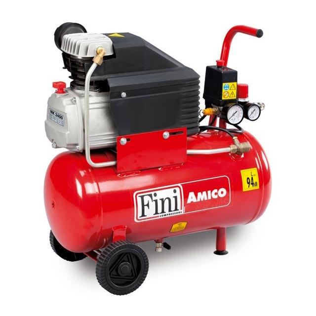 Brikokasa Compressore Aria 24lt Fini Amico 24 2400
