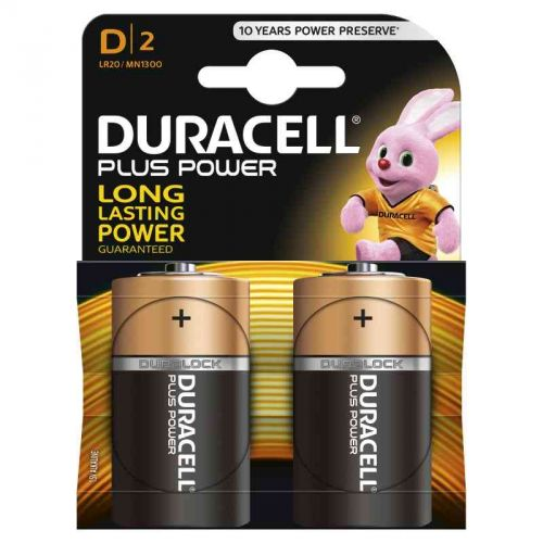 DURACELL PLUS POWER TORCIA (D) 1300