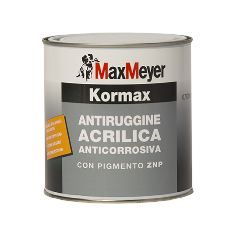 KORMAX ANTIRUGGINE ACRILICA LT. 0.750